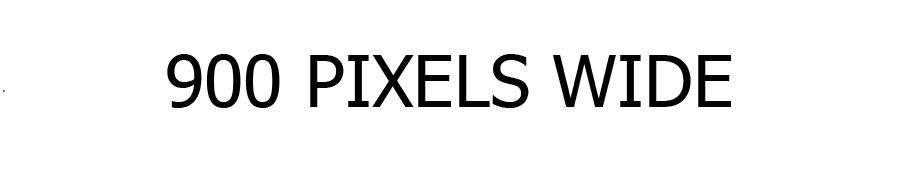 900 Pixels
